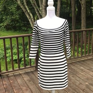NWT! Cupcakes & Cashmere off the shoulder dress